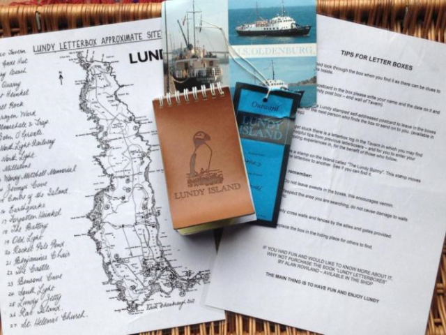 lundy letterboxing